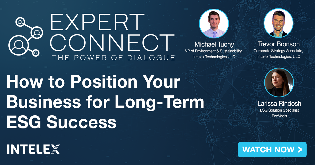 Expert Connect: How to Position Your Business for Long-Term ESG Success